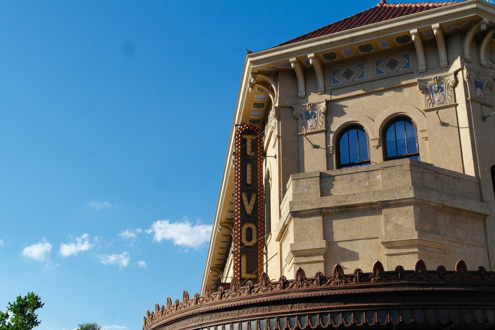Historic Tivoli Theater building